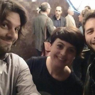 Rubén Soler, Alba Forés i Mariano Collantes, guanyadors del Premi Joan Oró 2015