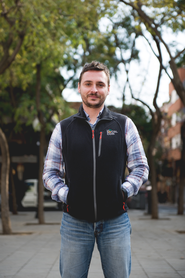 Ivan Caballero, creador de The Social Coin
